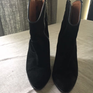IRO Black Suede Ankle Bootes-Size 80 US(8)